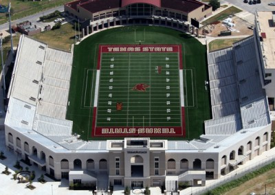 Texas State University Bobcat Stadium - North End Expansion