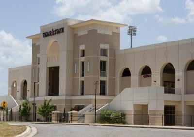Texas State University Bobcat Stadium – North End Expansion